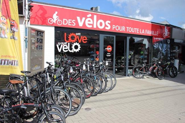 Magasin de vélos Campione Sutera à Beaufays